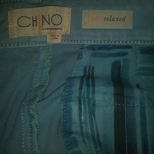 Anthropologie Pants & Jumpsuits - Chino by Anthropologie Relaxed Light Blue Pants